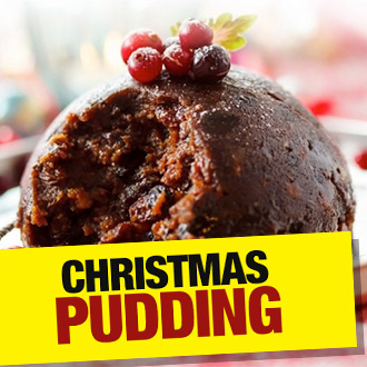 We've got 'em!  Handmade Christmas Puddings from the oldest pudding maker in the UK - epic!