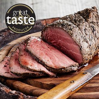 Free Range Beef Sirloin Roasting Joint - 1kg