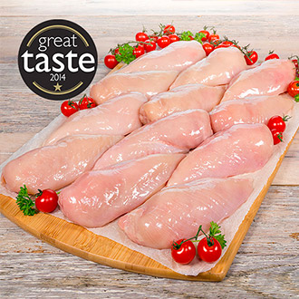 2.5kg Great Taste Award Winning Chicken Breasts