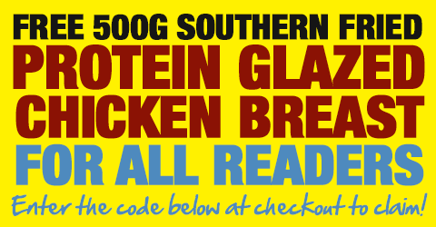 Claim your FREE 1kg Dragons Fire Chicken Breast