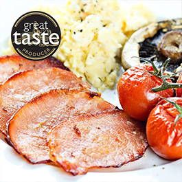 Low Fat Back Bacon Medallions - 3 x 350g
