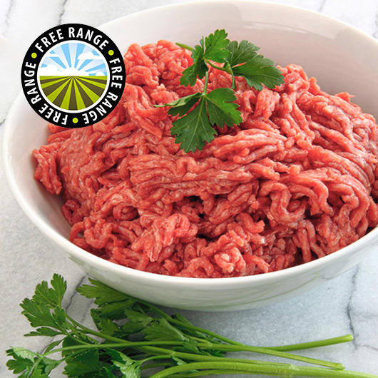 3 x 400g Extra Lean Free Range Steak Mince