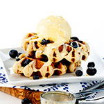 Waffles - Blueberry Flavour - 4 x 90g - DO NOT USE