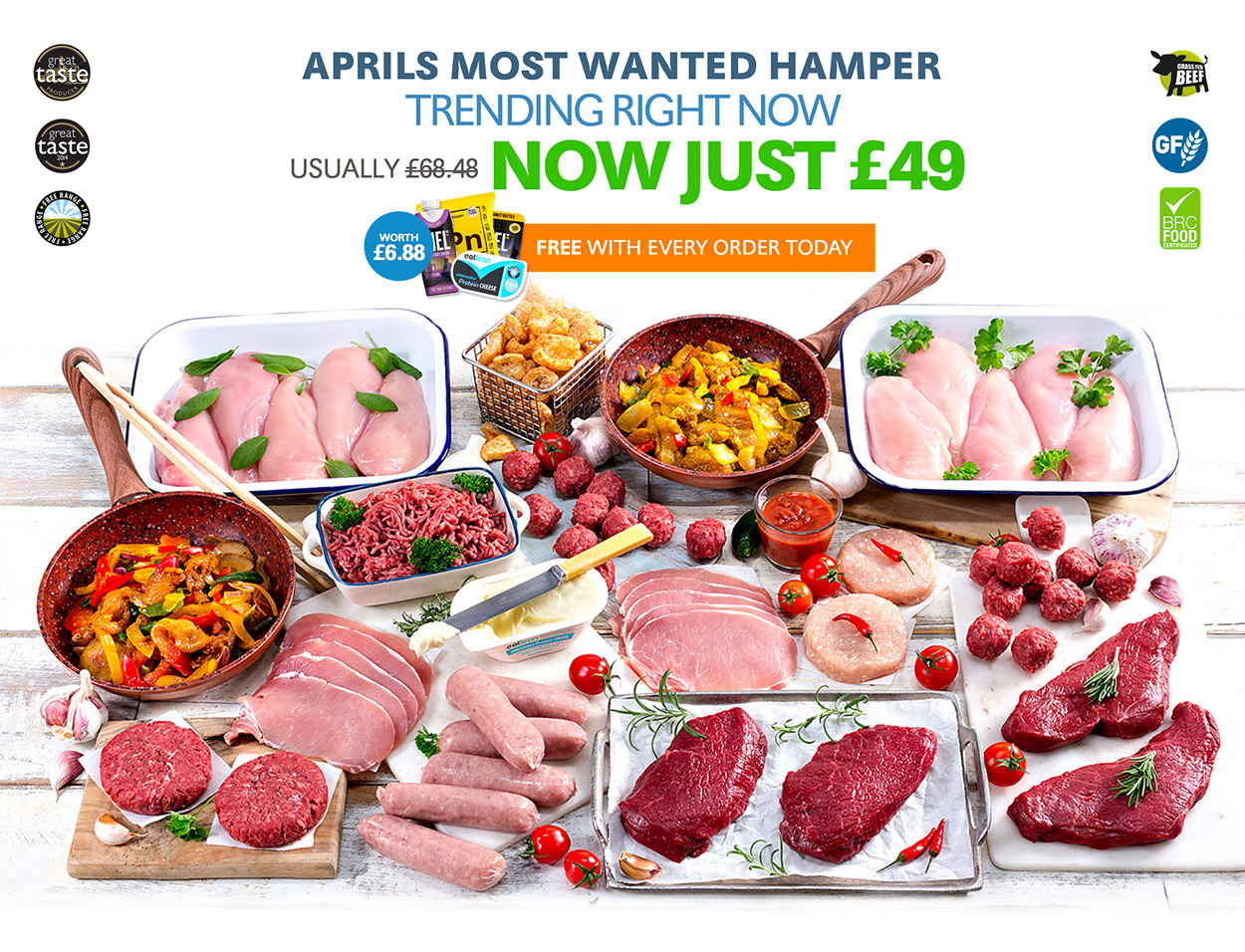 April's Most Wanted Hamper