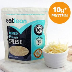 Eatlean High Protein & Low Fat Cheese - 180g Grated