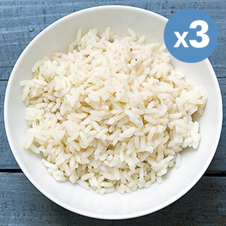 Basmati White Rice  - 3 x 250g