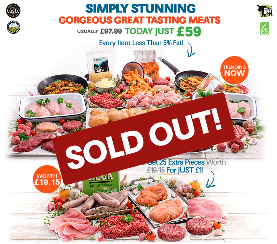 Extra Ordinary Premium Meat Selection