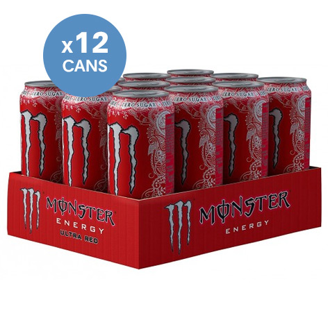 Monster Energy Hydro Ultra Red - 83p Each