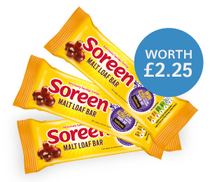 FREE Soreen Malt Loaf Bars