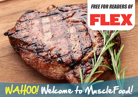 FREE 2 x 6-7oz Rump Steaks