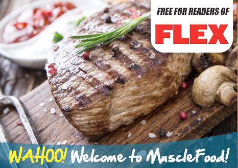 FREE 2 x 6-7 oz Rump Steaks