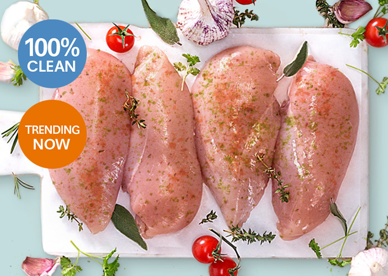 Korean BBQ Marinated Chicken Breasts - 1kg**** **DELISTED**