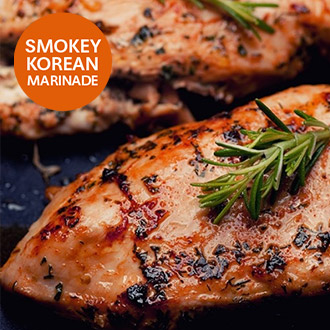 Korean BBQ Marinated Chicken Breasts - 1kg
