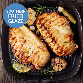 Southern Fried Glazed Chicken Breasts - 1kg