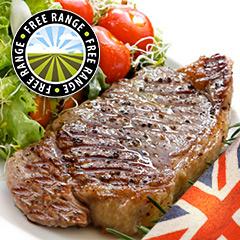 10 x 6-7oz Matured Free Range Rump Steak