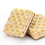 White Chocolate & Raspberry Wafer-5 x 41g Wafer