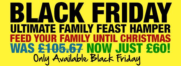 74 piece family feast hamper