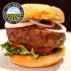 4 x 4oz Free Range Steak Burgers