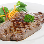 2 x 8-9oz Matured Free Range Sirloin Steaks ****