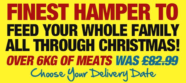 Finest Hamper - Was £82.99 Including Delivery
