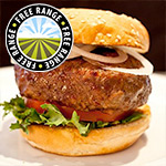 4 x 4oz Free Range Steak Burgers