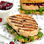 2 x 6oz Turkey and Cranberry Hache Steaks-2 x 6oz