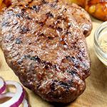6 x 6-7 oz Free Range Hache Steaks