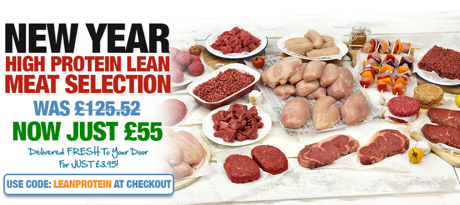 New Year High Protein Lean Meat Selection