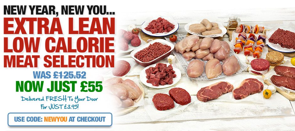 New Year, New You... Extra Lean Meat Selection
