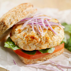 Chicken Breast Burgers