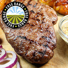 Irish Grass Fed Hache Steaks