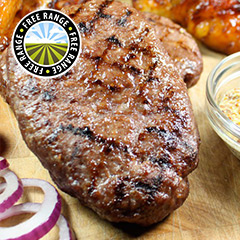 Great British Hache Steak