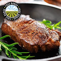 Irish Grass Fed Sirloin Steak