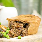 High Protein Steak & Gravy - 3 x 220g Pies