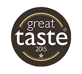 Great Taste Award Winner 2015 ☆