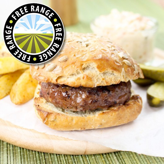 4 x 4oz - British Lean Steak Burgers