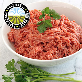 1 x 400g Extra Lean Free Range Steak Mince