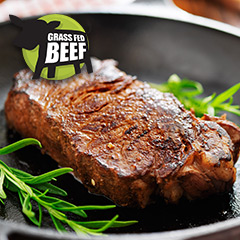 Irish Grass Fed Sirloin Steak