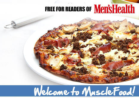 Claim your FREE Mighty Meaty High Protein Pizza