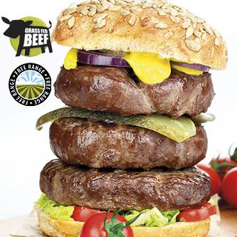 Stunning Lean Steak Burger