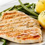 10 x 6-7oz Lean Turkey Breast Steaks