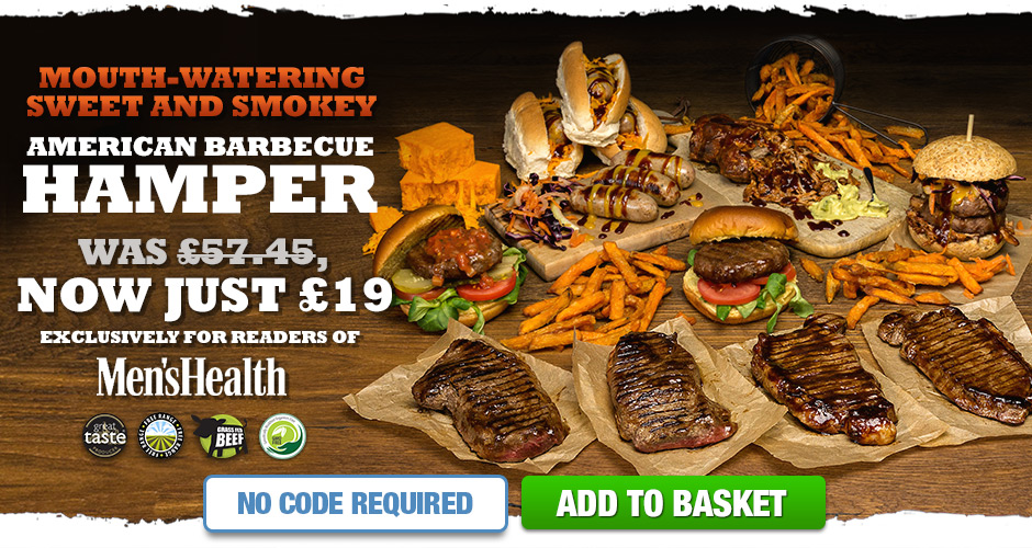 American Barbecue Hamper - Now Just �19 - Exclusively For Readers of Men's Health