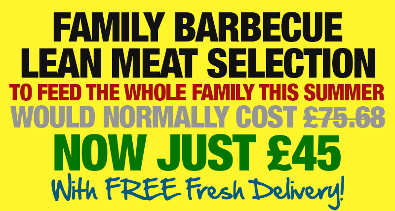 Family Barbecue Selection - Now Just £45