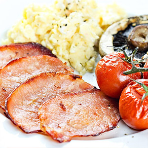 Low Fat Bacon Medallions