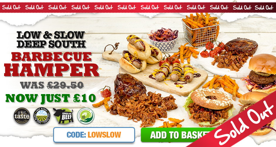 Low & Slow Deep South Barbecue Hamper
