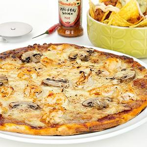 Hot Peri Peri Chicken Protein Pizza-350g