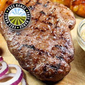 8 x 170g Free Range Hache Steaks