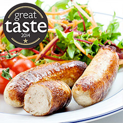 Chicken Breast Sausages - 3 x 454g