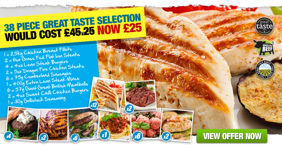 36 Piece Great Taste Selection £19