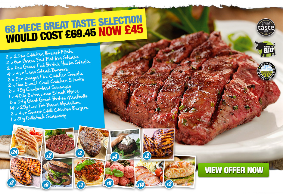66 Piece Great Taste Selection £19